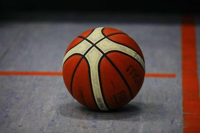 Basketball Symbol Symbolbild
