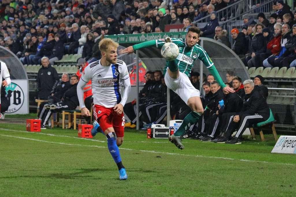 Bilder vom Testspiel VfB Lübeck - Hamburger SV