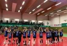 Handballgirls bleiben optimistisch und hoffen auf die DM-Endrunde. (Foto: VfL/Schimpf)